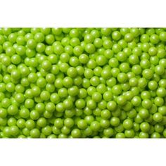 SweetWorks Candy Beads - Pearl - Lime - 100 g Golda's Kitchen