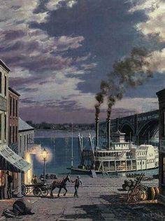 Laclede's Landing 1885