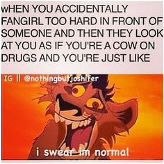 This is sooo true like I swear I can have a normal convo
