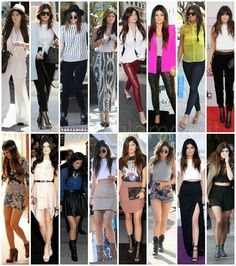 Kendall e Kylie Jenner Style
