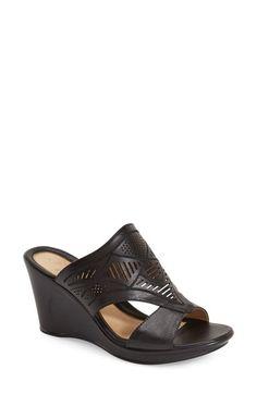 Naturalizer 'Oshea' Wedge Sandal (Women) available at #Nordstrom