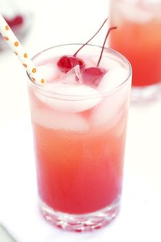 A fruity thirst quenching summer cocktail. Made with pineapple juice, vodka, and grenadine.  Takes less than 5 minutes to make!