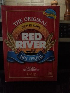 The perfect filling breakfast. Red River Cereal, Wild Rose Detox, Hot Cereal, Detox Recipes, Cool Pictures, Breakfast Recipes, Canning, Recipe Ideas, Number
