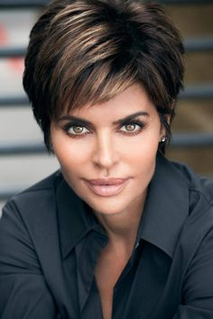 Ideas Hair Cuts Layers Short Lisa Rinna For 2019 Short Layered Haircuts, Cute Hairstyles For Short Hair, Short Hair Styles, Choppy Haircuts, Pixie Hairstyles, Hair Styles For Women Over 50, Short Hair Cuts For Women, 50 Hair, Hair Dos