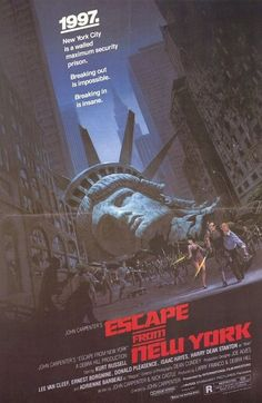 70s movie posters | Escape From New York movie poster
