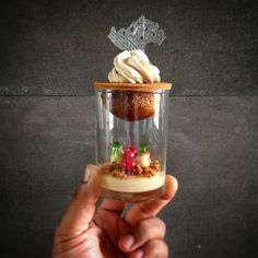 """1,928 Likes, 6 Comments - Pastry Elite™ (@pastryelite) on Instagram: """"When was the last time you made a verrine. This is a take on a St. Honoré by @vineshjohny."""""""