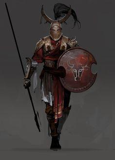 Dark Fantasy Art, Fantasy Artwork, Fantasy Concept Art, Fantasy Rpg, Medieval Fantasy, Fantasy Character Design, Character Design Inspiration, Character Art, Warrior Concept Art