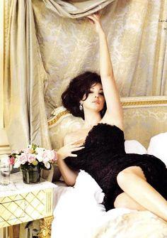 Monica Bellucci, for Tatler magazine in 2011. From Madeline Ashton, via Honey Rider.