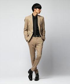 T/Rストレッチスーパースキニーアンクル丈トラウザー ~JAPAN FABRIC~(スラックス)|BLACK by VANQUISH(ブラック バイ バンキッシュ)のファッション通販 - ZOZOTOWN