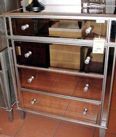 Pier One Imports  Hayworth Mirrored Dresser I NEED THIS