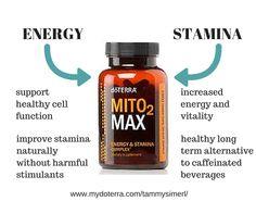 Mito2Max for Energy and Stamina... Kick the Caffeine