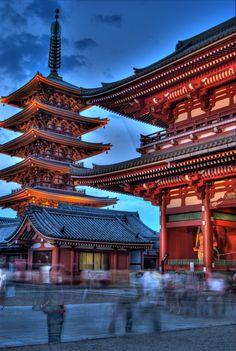 Sensoji  Temple  Japan