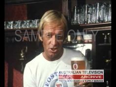 PAUL HOGAN FOSTERS COMMERCIAL To source master footage such as this via our footage research and supply service please contact: info@austvarchive.com