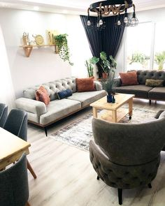 20 Catchy Farmhouse Living Room Design Ideas For Apartment 20 Catchy Farmhouse Living Room Designs, Rum, Home Accessories, Lounge, Couch, Contemporary, Interior Design, Nice, Blog