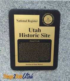 Joseph Smith Memorial Building - former Utah Hotel Site Hotel, Salt Lake County, Joseph Smith, Lds Church, Educational Activities, Historical Sites, Utah, Memories, Building