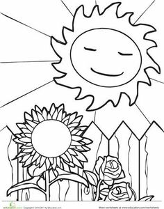 Fall leaf coloring page autumn awesome and coloring for Cute summer coloring pages