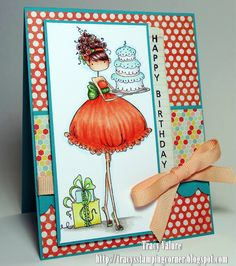 Tracy's Stamping Corner: Happy Birthday....
