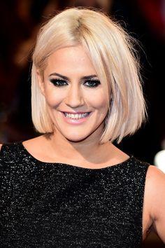 Caroline flack new hair 2015