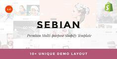 Sebian Super Multipurpose Responsive Shopify Theme