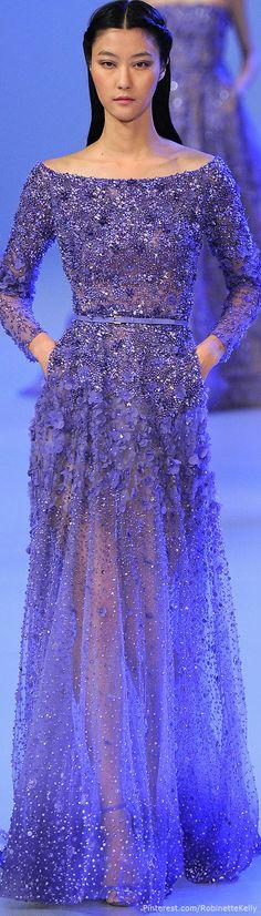Elie Saab Haute Couture   S/S 2014 ❤