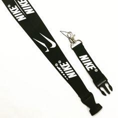 New NIKE Black / White Lanyard! Brand new! Nike Accessories Key & Card Holders