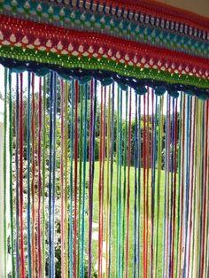 Crochet Fly-Curtain (Mrs Thomasina Tittlemouse) 2019 Crochet Fly-Curtain The post Crochet Fly-Curtain (Mrs Thomasina Tittlemouse) 2019 appeared first on Curtains Diy. Crochet Curtain Pattern, Crochet Curtains, Curtain Patterns, Beaded Curtains, Diy Curtains, Bedroom Curtains, Crochet Decoration, Crochet Home Decor, Crochet Crafts