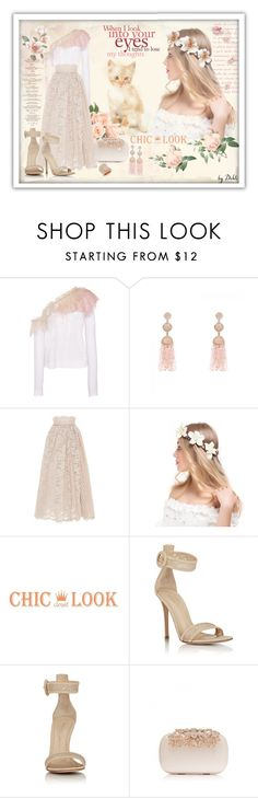 """Apenas um olhar"" by dehti ❤ liked on Polyvore featuring Philosophy di Lorenzo Serafini, LUISA BECCARIA and Gianvito Rossi"