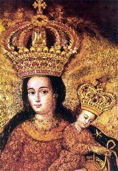 Our Lady of Las Lajas: De geschiedenis van een voorliefde Een voorbeeld van deze pracht, kunt u overwegen hoe de meest heilige Maagd heeft gestempeld haar beeld op de indrukwekkende rotsen van de Guaitara Canyon, Colombia, waardoor hij koningin van de zielen in die regio en in alle omliggende landen. Onze lieve vrouw van Las Lajas.