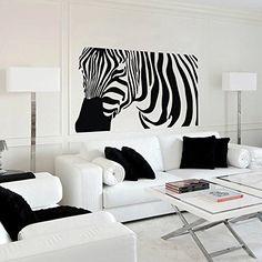 Zebra Wall Decal Vinyl Sticker Home Arts Animal Wall Decals Decor Zebra Pattern (Black, Large) Geckoo http://www.amazon.com/dp/B00NBSGZZC/ref=cm_sw_r_pi_dp_vNyuub0AT5Z7Z