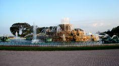 bf-19 Buckingham Fountain, Opera House, Building, Outdoor Decor, Travel, Home Decor, Viajes, Decoration Home, Room Decor