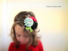 Headband Tutorial by Mama Says Sew