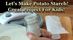 Make potatoe starch Diced Potatoes, Spices And Herbs, Dehydrated Food, Food To Make, Making Food, Spice Mixes, Corn Starch, Canning Recipes, Projects For Kids