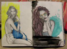 sketchbook by mariana pinheiro