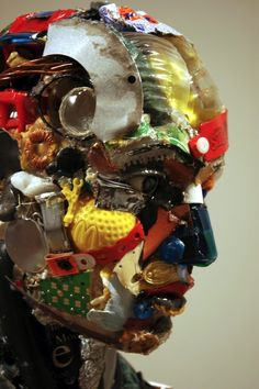 Dario Tironi - Recycled Objects Sculpture