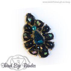 Black Pearl – gothic/dark tribal bindi