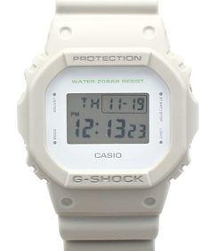 "BEAMS BOY(ビームスボーイ)のG-SHOCK / ""DW5600M-8JF, -3JF, -2JF""(腕時計) ライトグレー"