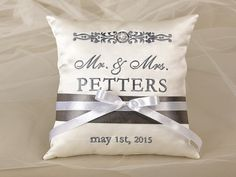 Wedding Bearer Pillow Ring Pillow Wedding от forlovepolkadots