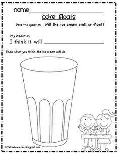 My students earn a rootbeer float party when they all pass off the letter names and sounds.  This would be a great writing activity if I changed the title.