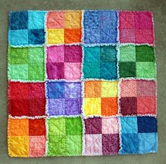 Summer Splash Rag Quilt