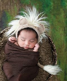Look at this Chicaboo Tan Lion Mohair Hat on #zulily today!