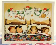 Vintage Vic: While visions of suger plums danced in thier heads!