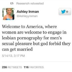 objectifying lesbians- 'Murica's pastime!