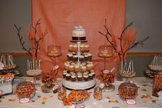 Fall theme Dessert table