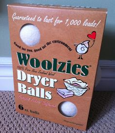 Woolzies Review!  Best way to keep your laundry chemical free and all natural!  Especially for kids' clothes!  Come win a bunch of them!