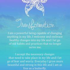 Affirmation - Transformation