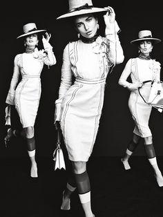 Andreea Diaconu for Vogue Korea February 2015 | The Fashionography