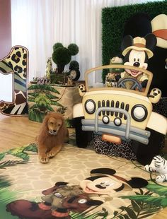 Mickey Mouse Safari Birthday Party Ideas | Photo 2 of 23 | Catch My Party