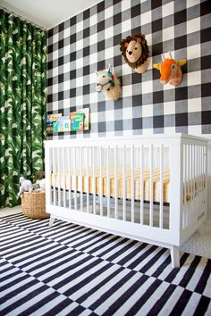 This Nursery Will Inspire You To Start Mixing Patterns In A Whole New Way