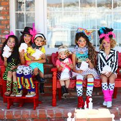 Our circus family was a photo shoot collaboration with We're so fancy as well as celebrity stylist Nico Warren and online shop The weekend Wardrobe. Teen Boy Costumes, Halloween Dance Costumes, Costumes For Teens, Circus Family Costume, Circus Costume, Family Costumes, Kids Carnival, Carnival Birthday, 5th Birthday
