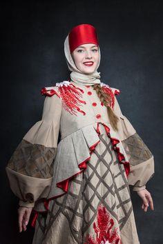 Russian Folk, Russian Style, Folk Costume, Costumes, Foto Fantasy, Russian Fashion, Traditional Outfits, Fasion, Fashion Art